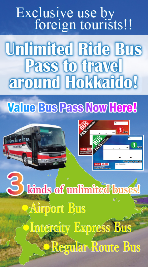 Foreign travelers only「<strong>Hokkaido unlimited bu</strong>」